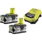 Аккумулятор+зарядное устройство Ryobi RBC18LL50